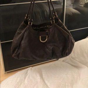 Brown Gucci bag